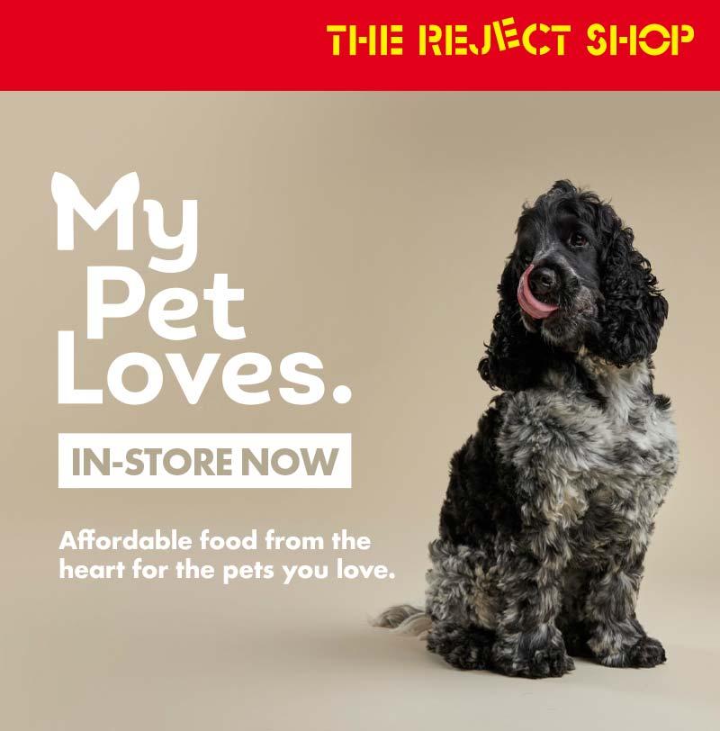 The Reject Shop My Pet Loves